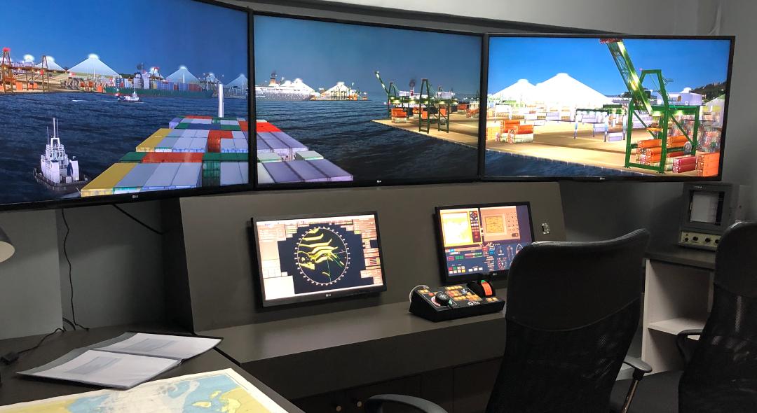 Simulador de Navegación UACh adquiere nuevos equipamientos