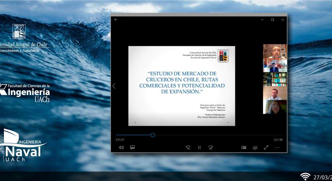 Ingeniero Naval es el primer titulado online de la FCI UACh